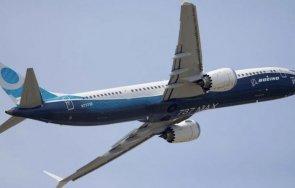 боинг 737 макс кацна аварийно сащ заради потенциална техническа неизправност
