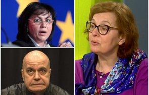 румяна коларова разби предизборните мераци партийката слави трифонов катастрофата нинова