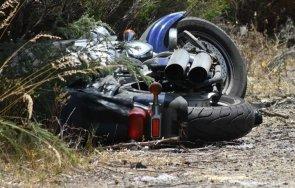 моторист загина зверски удар две дървета