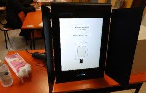 цик всеки четвърти предпочел гласува машина изборите