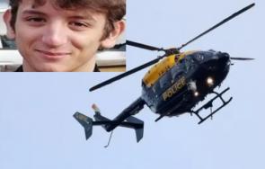 извънредно британската полиция търси хеликоптер годишен български тийнейджър снимка