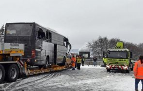автобус руски туристи катастрофира турция един човек загинал
