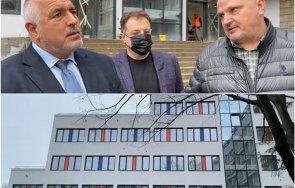 първо пик борисов продължава инспекцията велико търново показа чисто нова крило болницата няколко отделения видео