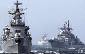 руският боен флот започна военни учения черно море