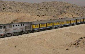 десет пострадали четири вагона влак дерайлираха египет