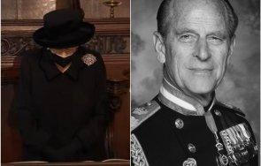 великобритания елизабет сбогуват принц филип живо снимки