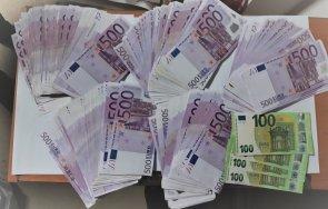 прокуратурата погна турски гражданин пренесъл незаконно огромна сума евро снимки