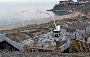 инспекцията труда погва строителите морето