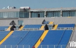 огромна футболна бомба грандът левски угроза изпадне административно трета лига
