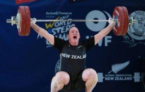 шок щангист първият транссексуален спортист олимпиада мъж вдига тежести жена