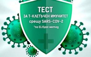 софиямед пълмед високо надежден тест изследване клетъчен имунитет sars cov