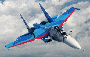руски изтребител прихвана три френски военни самолета черно море
