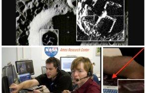 мистерия взриви наса следи извънземен живот луната