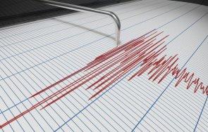 слабо земетресение отчетоха сеизмолозите смолян