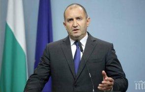 румен радев разпуска парламента назначава служебно правителство
