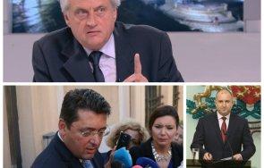 първо уволнение служебен министър бойко рашков отстрани враг президентски съветник