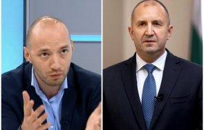 социологът димитър ганеврадев направи служебното правителство рамките своята предизборна кампания част остане редовния кабинет герб спечели изборите