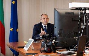 радев разговаря председателя европейския съвет шарл мишел призова зелени коридори европейските туристи