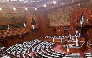 японски опозиционни партии внесоха парламента проект гласуване недоверие кабинета