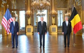 кралят белгия прие байдън двореца