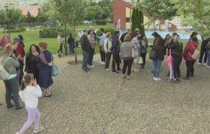 родители излязоха протест заради класирането първокласници враца