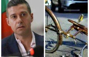 пик шефът бнр андон балтаков блъсна служебния джип велосипедист