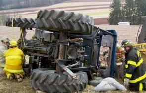 Борят се за живота на мъж, пострадал при ремонт на трактор
