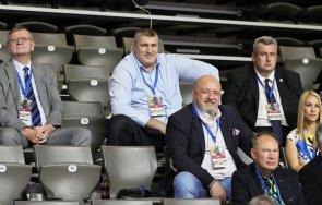 посланикът европейския волейбол красен кралев проведе работна среща президента cev александър боричич