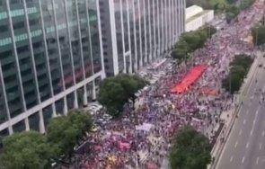 масови протести бразилия липсата адекватни мерки заради коронавируса страната