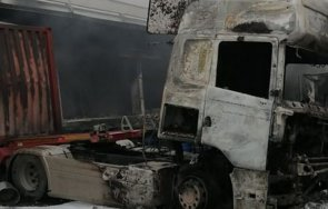 два влекача изгоряха паркинг монтана