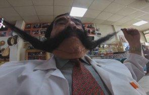 турчин изуми света бръснал мустаците вече