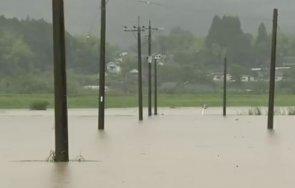 евакуират десетки хиляди япония заради проливни дъждове