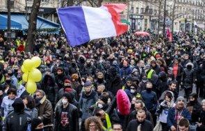 110 000 включили протестите санитарните мерки франция