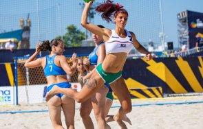 ясни четвъртфиналистите европейското първенство плажен хандбал снимки