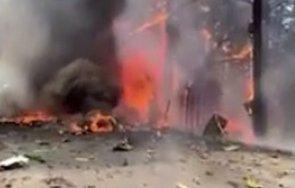 самолет разби летище калифорния видео