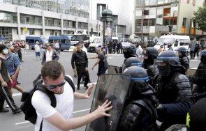 десетки хиляди протестираха париж здравния пропуск