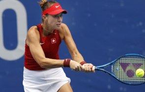 швейцарка окичи златото тенис турнира токио