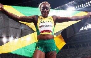 злато нов олимпийски рекорд илейн томпсън 100 метра