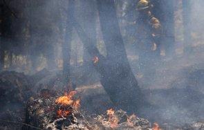 пратиха войска гаси пожара твърдица