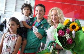 българия посрещна своите спортни герои олимпиадата токио снимки