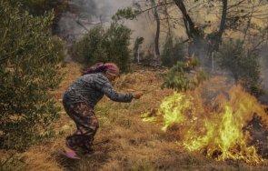 расте броят жертвите огромните пожари турция