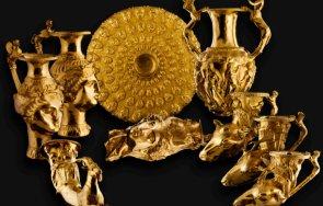 показват панагюрското злато двореца балчик