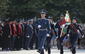 първи офицерски пагони получиха випускниците ввву георги бенковски снимки