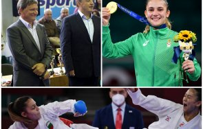 вицепрезидентът федерацията карате русалин русалинов пик олимпийското злато ивет разплака голямата победа алексей петров години работим медал