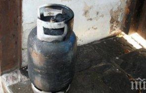 Газова бутилка гръмна и разцепи къща в пловдивско село