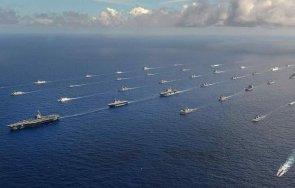 американският флот започва грандиозното военноморско учение години