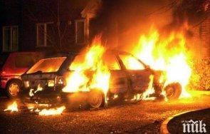 Полицията разследва два палежа на леки коли с един собственик във Видин