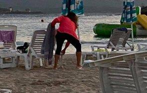 заловиха крадци хавлии чадъри плажа