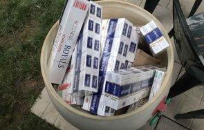 Митничарите на Летище София спряха износа на 54 000 къса цигари