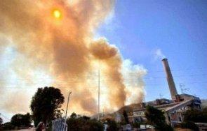 нов пожар пламна турция близо тец